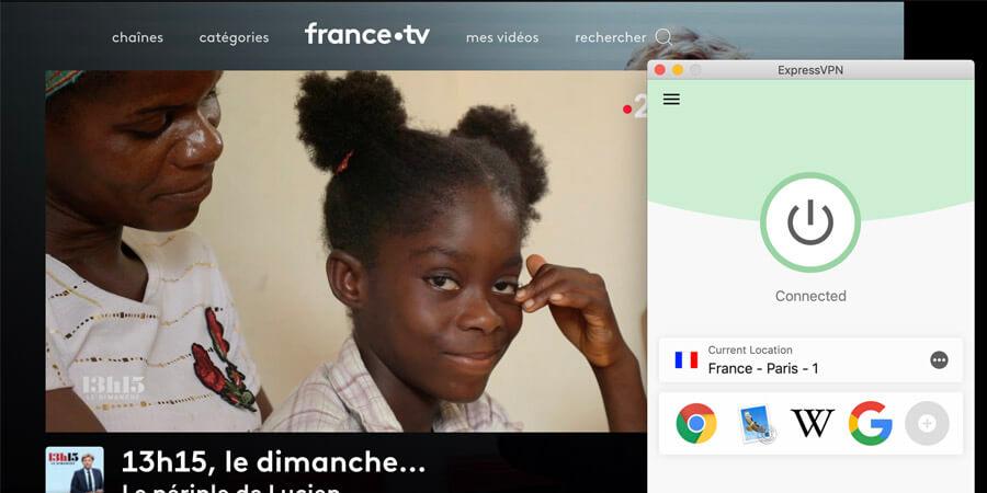 France TV FRance 2 ExpressVPN