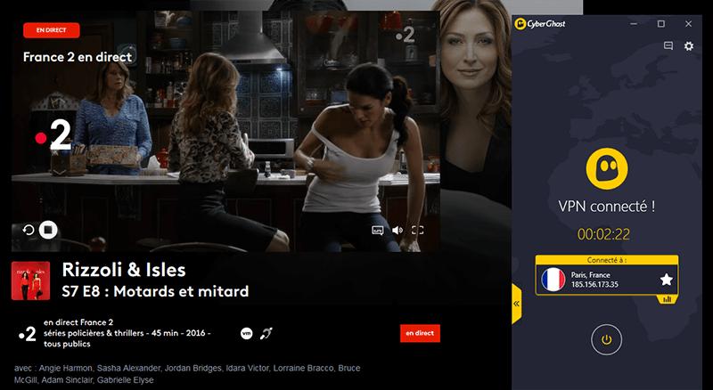 Déblocage de France TV