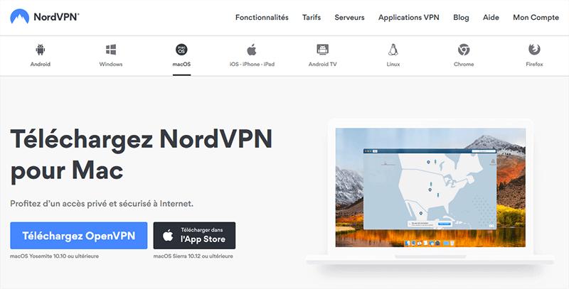 NordVPN Mac