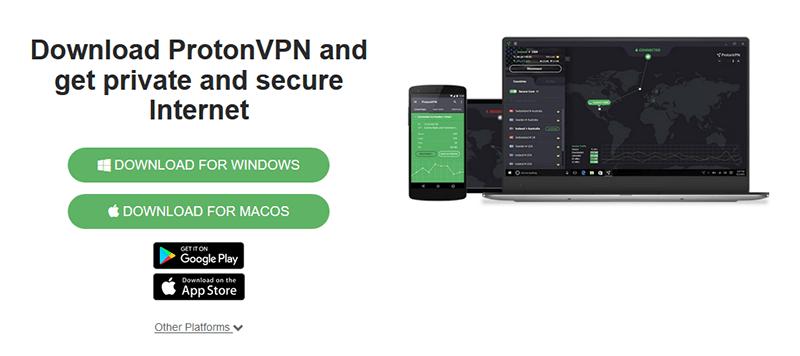ProtonVPN Windows