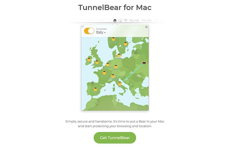 TunnelBear Mac