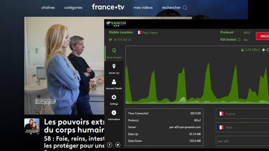 France-TV IPVANISH