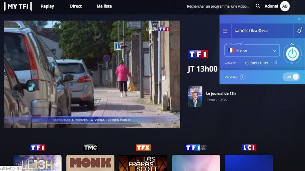 MY-TF1 Windscribe