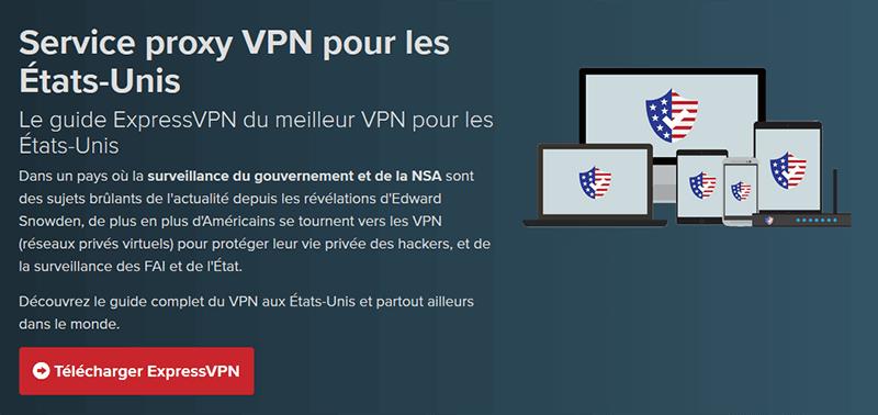 ExpressVPN VPN États-Unis