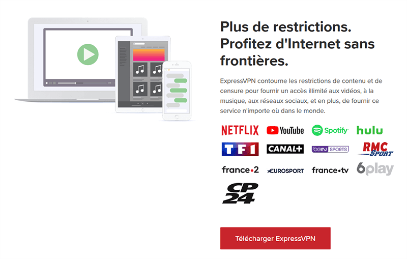 ExpressVPN streaming Ligue des Champions