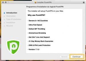 Installer PureVPN