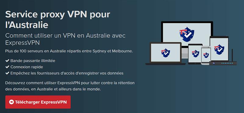 VPN Australie ExpressVPN
