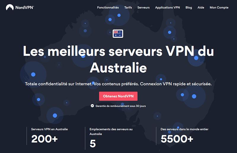 VPN Australie NordVPN
