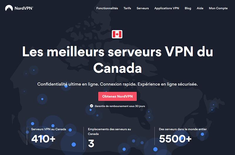 VPN Canada NordVPN