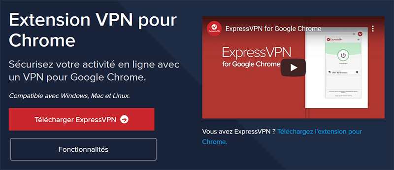 VPN Chrome ExpressVPN