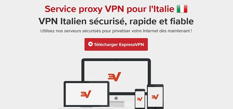 VPN Italie ExpressVPN