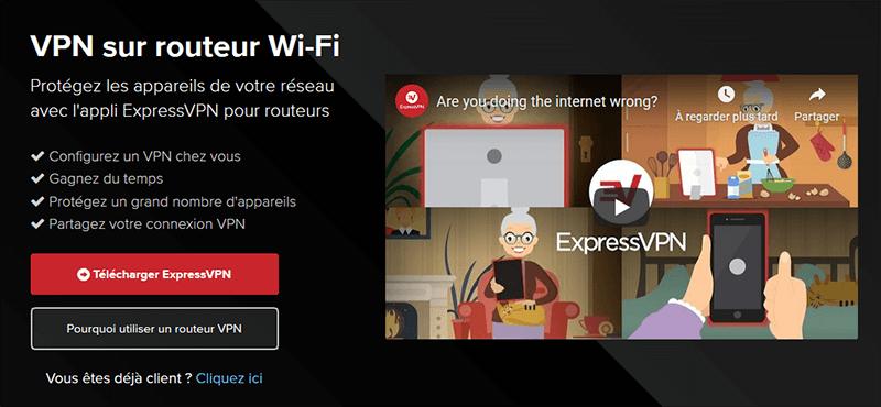 VPN routeur ExpressVPN