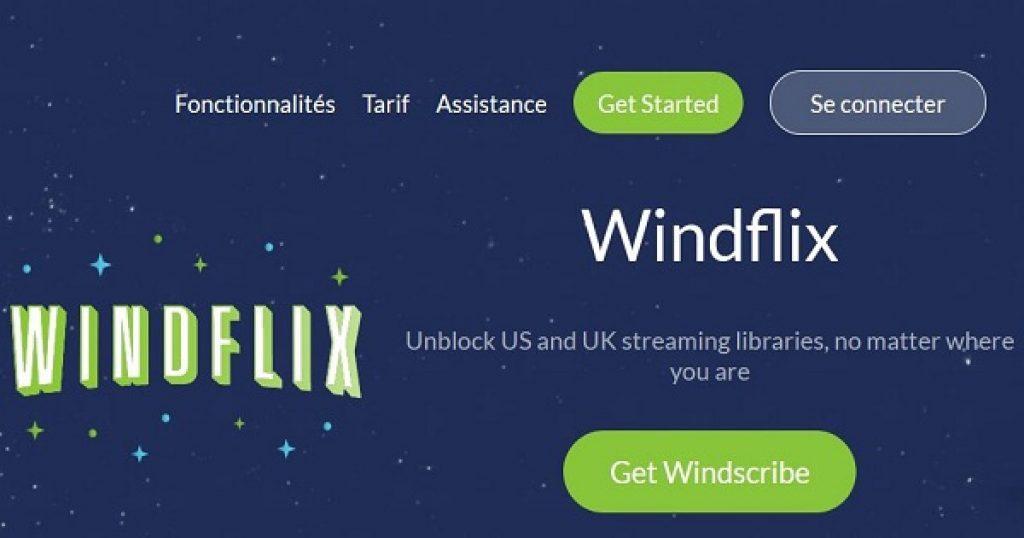 Windscribe Netflix