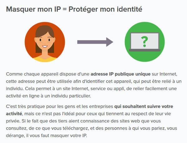 Masquer adresse IP anonymat