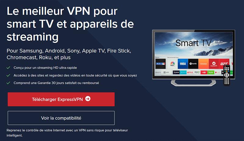 VPN pour Smart TV